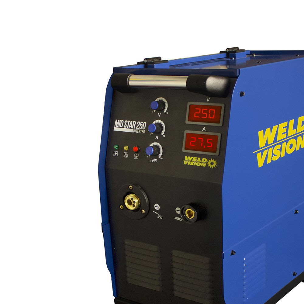 Inversora De Solda MIG/MAG Mig Star 250 Inverter 220/380V WELD VISION
