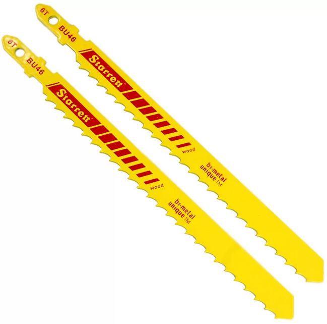 Lâmina De Serra Tico-Tico Bi-Metal 100mm 2 Peças 6D STARRETT BU46-2