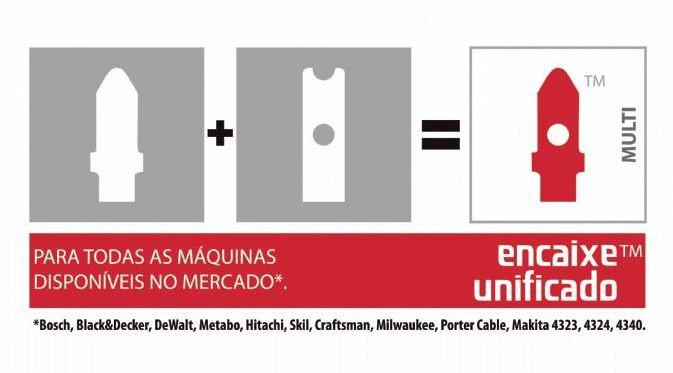 Lâmina De Serra Tico-Tico Bi-Metal Unique Multi 50mm 2 Peças 14D STARRETT BU214-2