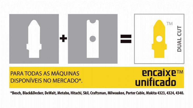 Lâmina De Serra Tico-Tico Bi-Metal Unique Dual Cut Madeira 50mm 2 Peças 9-19D STARRETT BU2DCS-2