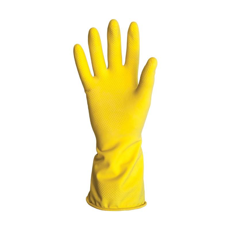 Luva De Proteção Látex Amarelo 9/G KALIPSO 02.04.1.3