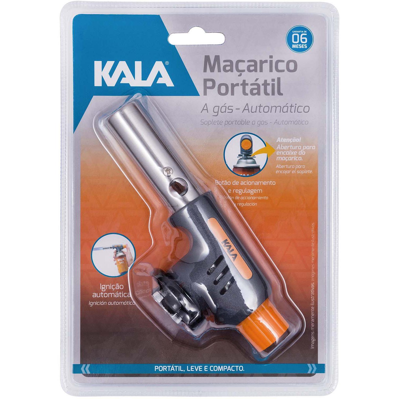 Maçarico Portátil A Gás Ignição Automática KALA 869333