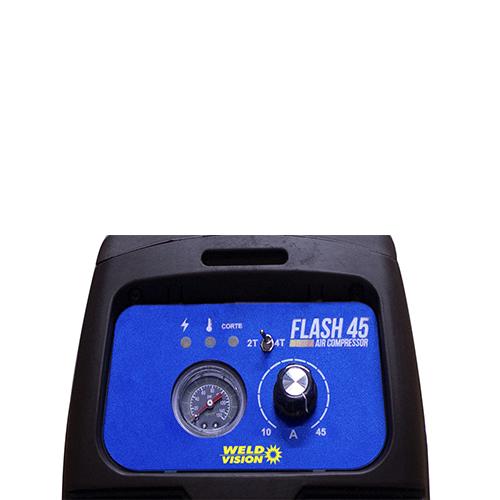 Máquina De Corte Plasma Flash 45 Air Compressor Weld Vision