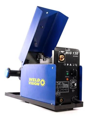 Máquina De Solda Mig 130 Monofásica 220v WELD VISION