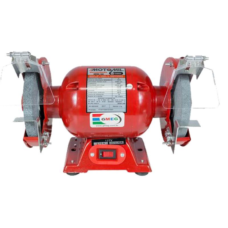 Motoesmeril 360W 60hz 110V Monofásico MOTOMIL MMI-50