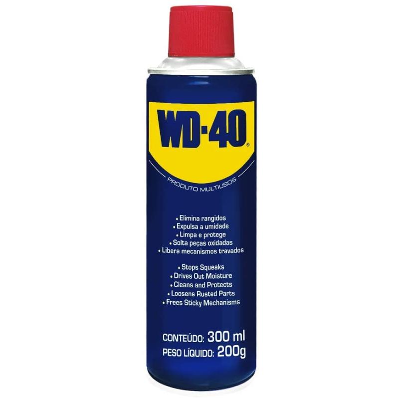 Óleo Lubrificante Multiuso 300ml Spray WD-40 18899