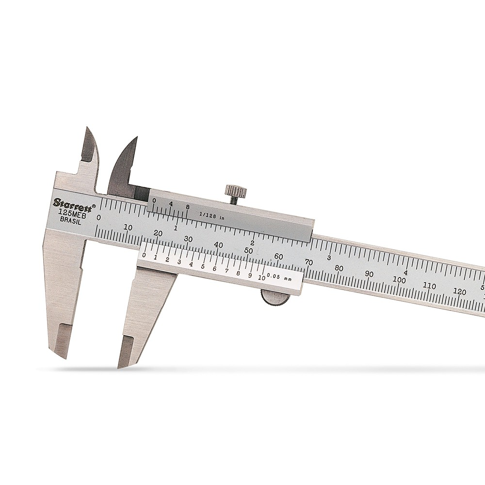 Paquímetro 200mm 0,05 (1/128'') STARRETT 125MEB-8/200
