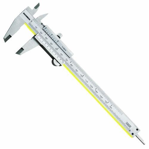 Paquímetro Universal Em Titânio 150mm/6'' / +-0,05mm / 0,05mm/1/128'' DIGIMESS 100.001A TIN