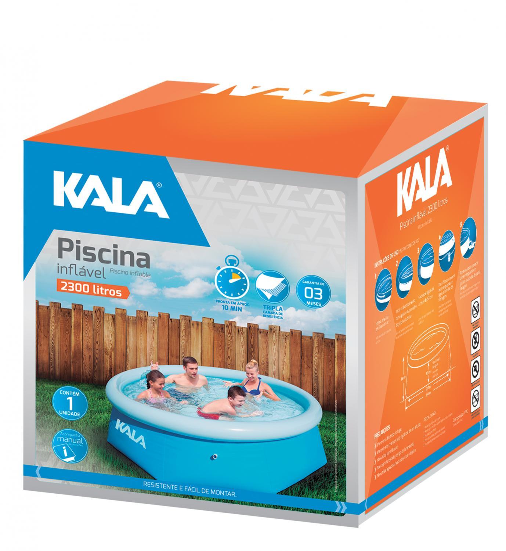 Piscina Inflável 2300L KALA 216780