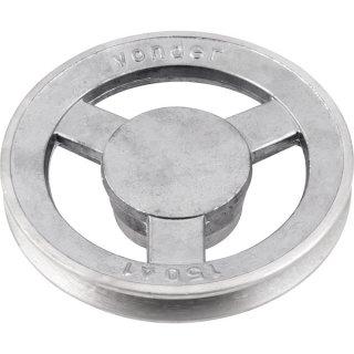 Polia De Alumínio 1 Canal A-150mm VONDER 66.84.110.150