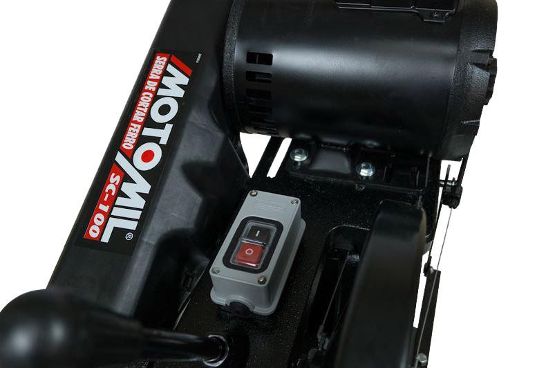 Policorte Com Motor 2hp 127V/220V Monofásica MOTOMIL SC100