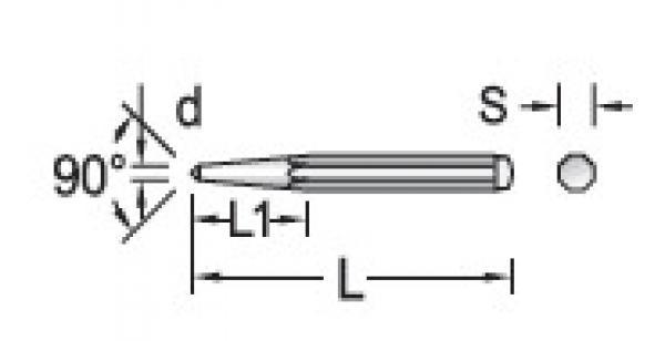 Punção De Centro 10mm GEDORE 038.001
