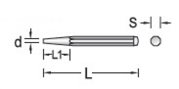 Saca Pino Paralelo 6mm GEDORE 038.250
