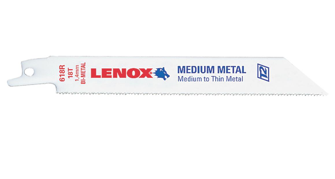 Serra Sabre Para Metal 12''X3/4X.050'' 10/14D LENOX 20584S110R