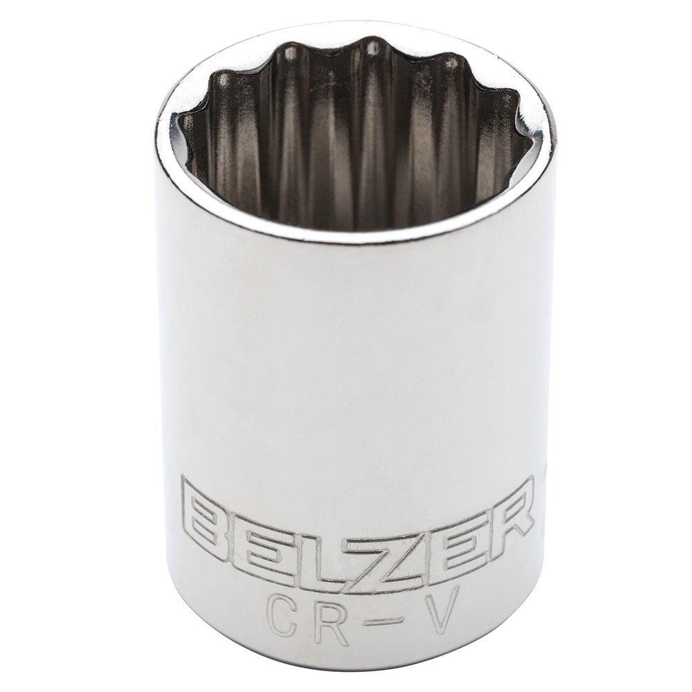 Soquete Estriado 22mm Encaixe 1/2 BELZER 204013BBR