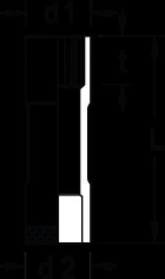 Soquete Estriado Longo 10mm Encaixe 1/2 GEDORE 015.705