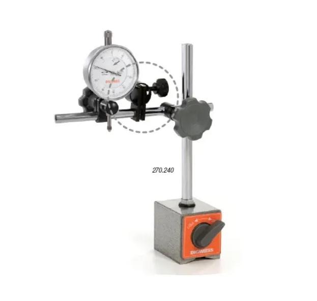 Suporte Magnético Ajuste Fino Articulado Caixa Alumínio DIGIMESS 270.240