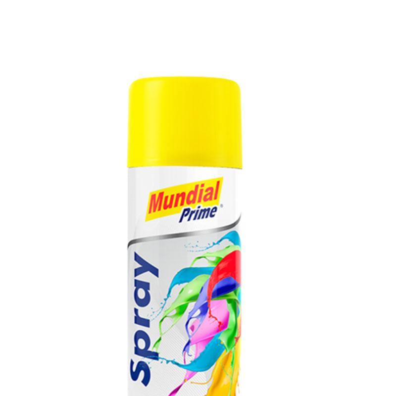 Tinta Spray 400ml Ug Amarelo Mundial Prime
