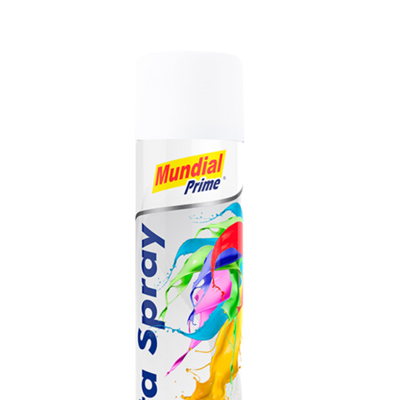 Tinta Spray 400ml Ug Branco Mundial Prime