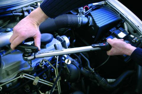 Torquímetro de Estalo Torcofix Encaixe 1/4 Capacidade 5-25N.m Resolução 0,1N.m GEDORE 048.331