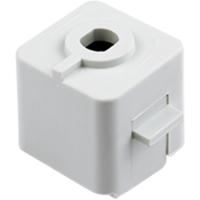 Adaptador de Trilho Energizado Branco DL022B  Bella Iluminação