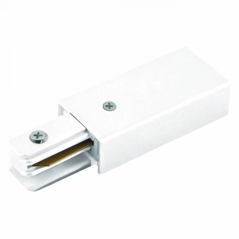 Alimentador Para Trilho de Sobrepor Energizado Branco SD1046BR Stella Design