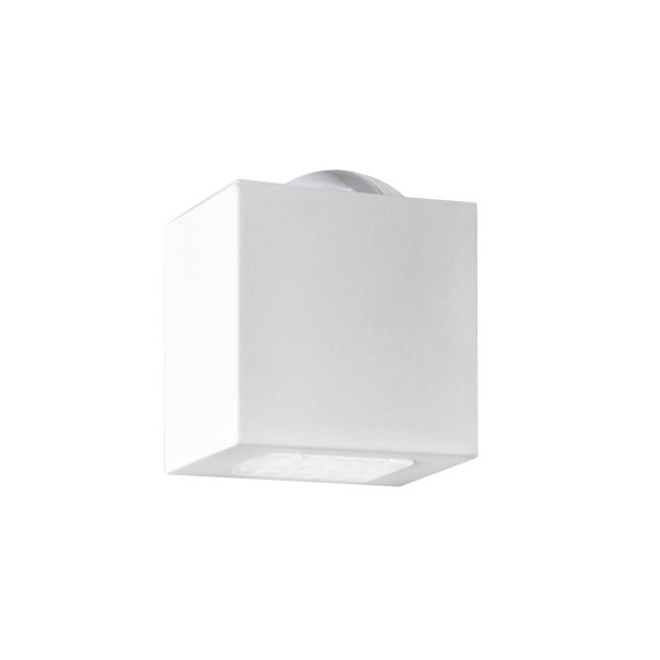 Arandela de Sobrepor C/ Lente 2 Fachos LED 6W 3000K 220V 257/2-302FC  Itamonte