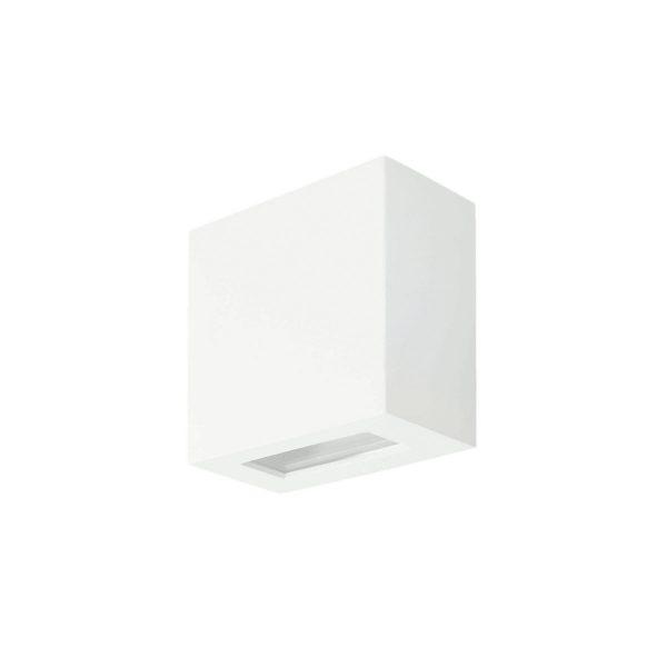 Arandela de Sobrepor C/ Vidro Transparente 2 Fachos LED 6W 3000K 127V 233/2-301VD  Itamonte