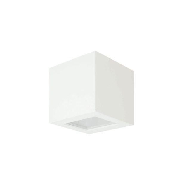 Arandela de Sobrepor C/ Vidro Transparente 2 Fachos LED 6W 3000K 127V 234/2-301VD  Itamonte