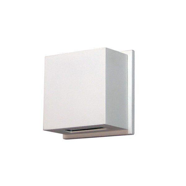 Arandela de Sobrepor C/ Vidro Transparente 2 Fachos LED 6W 3000K 127V 236/2-301VD  Itamonte