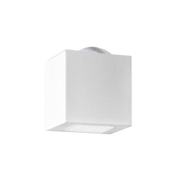 Arandela de Sobrepor C/ Vidro Transparente 2 Fachos LED 6W 3000K 220V 257/2-302VD  Itamonte