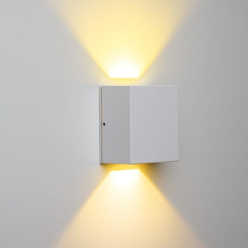 Arandela de Sobrepor Effekt 2 Fachos LED 8W 3000K Bivolt STH6730/30 - Stella Design