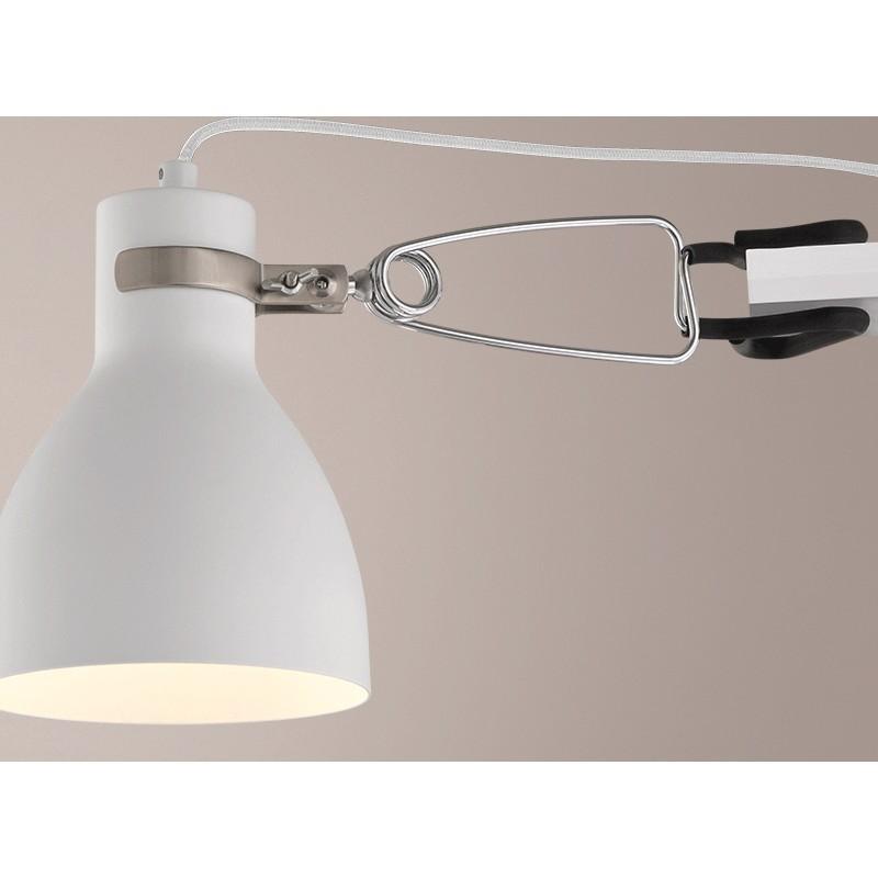 Arandela de Sobrepor Klug Branca 1x E-27 em Metal SD2220 - Stella Design