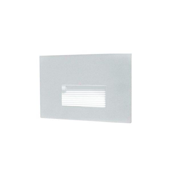 Balizador de Parede Embutir LED 6W 3000K 127V 902-301  Itamonte