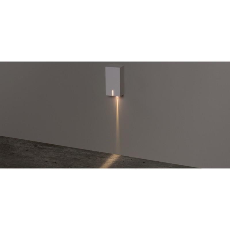 Balizador de Parede Sobrepor Risk LED 3W 3000K Bivolt IP65 STH8740/30 - Stella Design