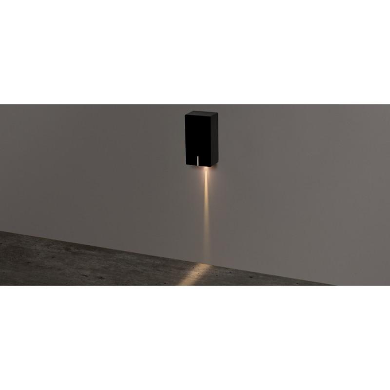 Balizador de Parede Sobrepor Risk LED 3W 3000K Bivolt IP65 STH8741/30 - Stella Design