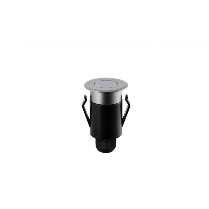 Balizador de Solo Redondo Spur LED 1W IP67 3000K Bivolt STH6710/30 - Stella Design