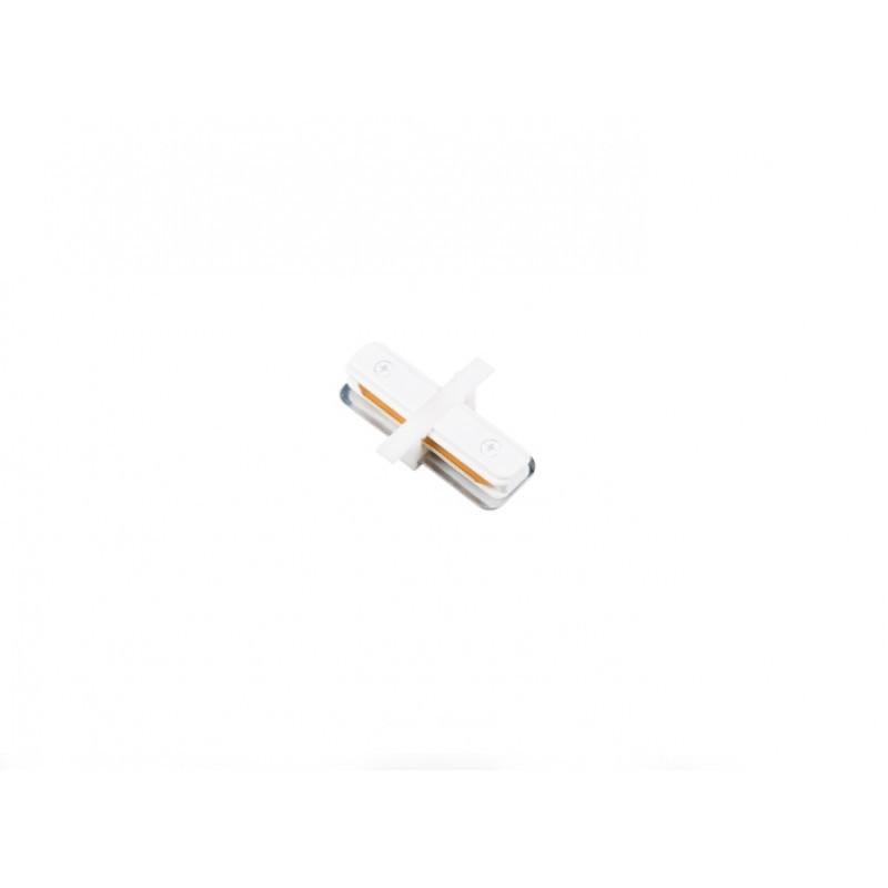Conector I Para Trilho de Embutir Energizado Branco SD1205BR - Stella Design