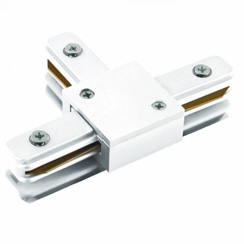 Conector T Para Trilho de Sobrepor Energizado Branco SD1045BR - Stella Design