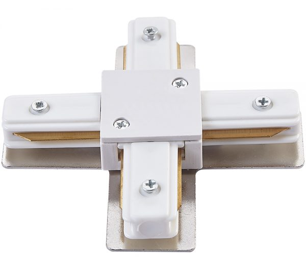 Conector X Para Trilho de Sobrepor Branco 438824  Brilia