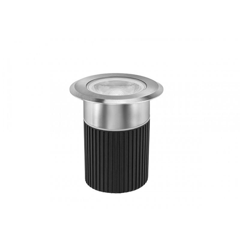 Embutido de Solo Focco Inox LED 10W IP67 3000K 30° Bivolt STH8707/30 - Stella Design
