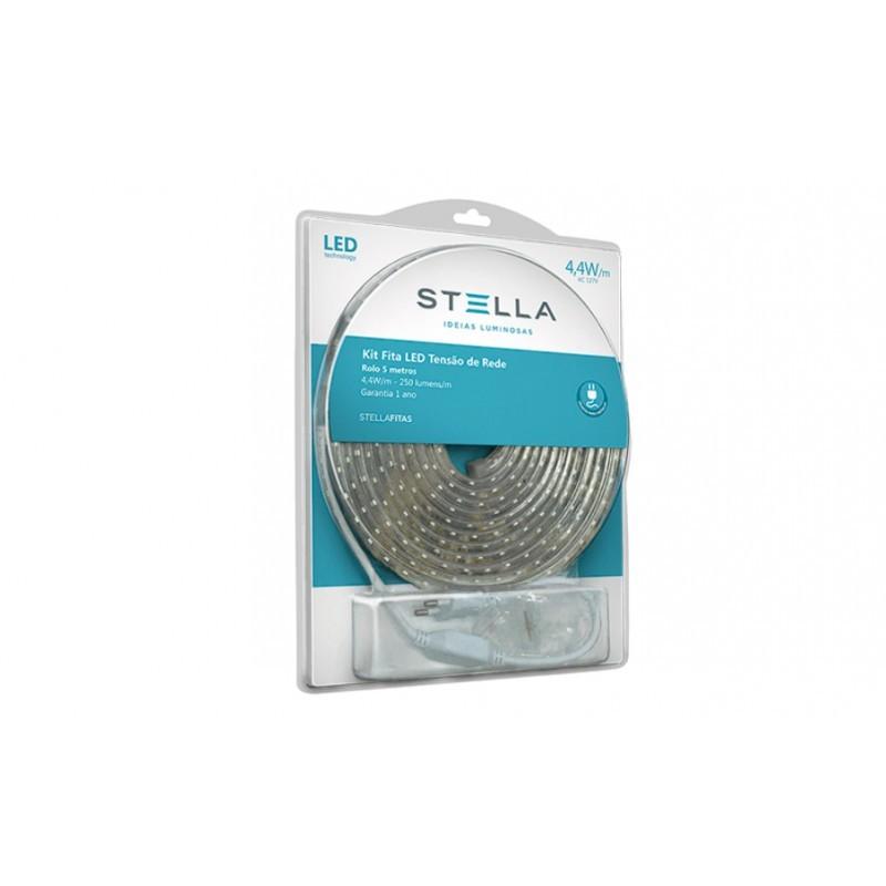 Fita de LED 5W/m 3000K 127V IP67 5mts STH7801/30 - Stella Design
