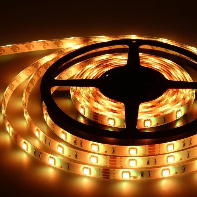 Fita de LED 6W/m Âmbar 12V IP20 5mts STH6800/AB - Stella Design