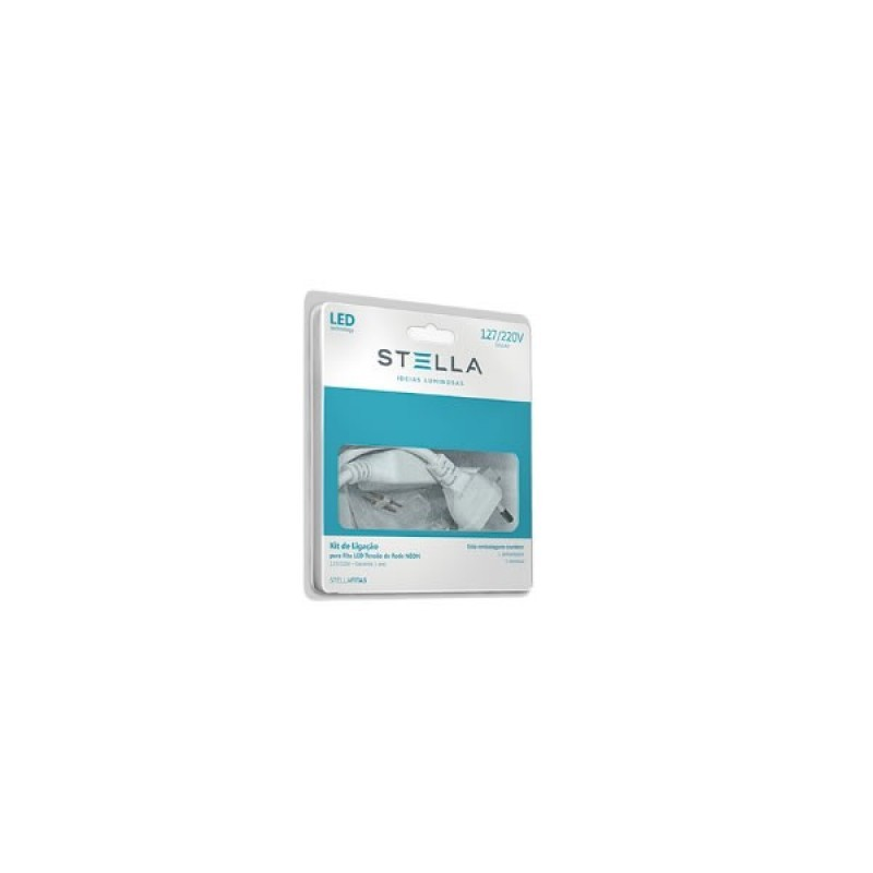 Kit de Alimentação Para Fita LED Double Line Bivolt STH7813 - Stella Design