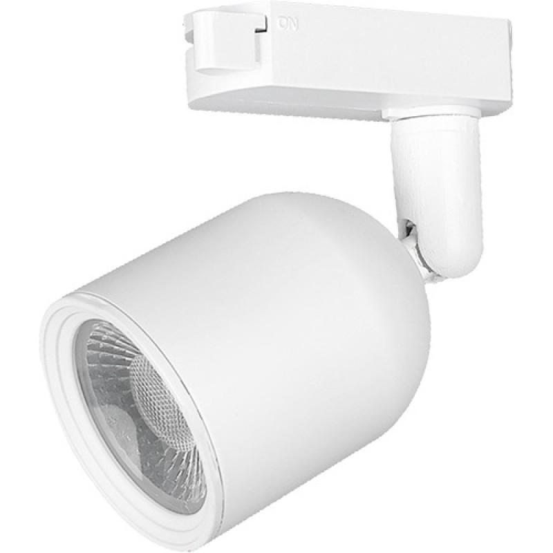 KIT Trilho Eletrificado de Sobrepor C/ 3 Spots LED Branco 7W 3000K Bivolt IP20 251090571  Avant