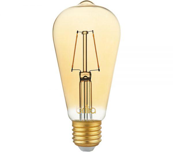 Lâmpada LED Bulbo ST64 Filamento Vintage 2,5W 2000K E-27 Bivolt 438640  Brilia