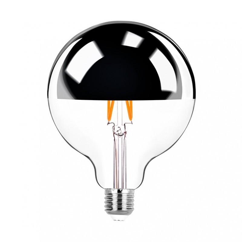 Lâmpada LED Defletora G125 Filamento 7W 2400K E-27 Bivolt STH8290/24 - Stella Design