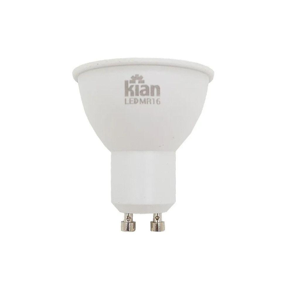 Lâmpada LED Dicróica 4W 3000K GU10 Bivolt 10591  Kian