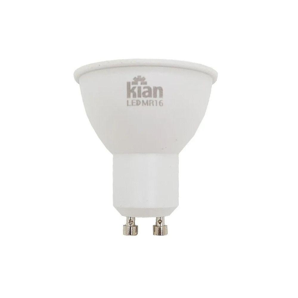 Lâmpada LED Dicróica 6W GU10 6000k Bivolt 11297  Kian