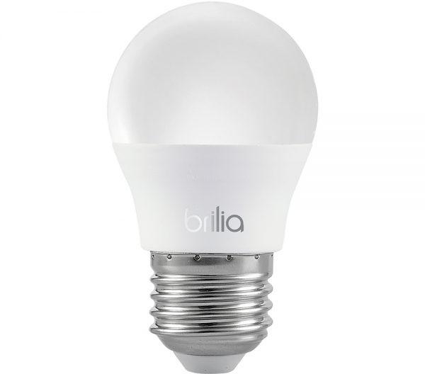 Lâmpada LED Mini Globo 3W E-27 2700K Bivolt 436059  Brilia